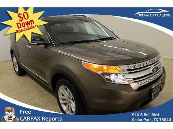 2015 *Ford Explorer FWD* 4d Wagon XLT - GOOD OR BAD CREDIT!