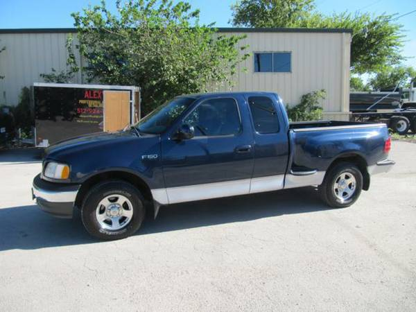2002 Ford F150 Ext Cab XLT Runs and Looks Good Clean CarFax