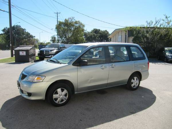 2003 Mazda MPV LX 1 Owner Clean CarFax Only 112K Miles