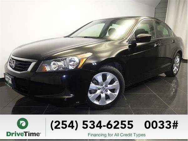 2009 Honda Accord EX (BLACK) - Beautiful & Clean Title