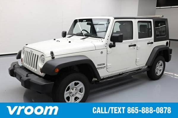 2010 Jeep Wrangler Unlimited Sport RHD 7 DAY RETURN / 3000 CARS IN STO