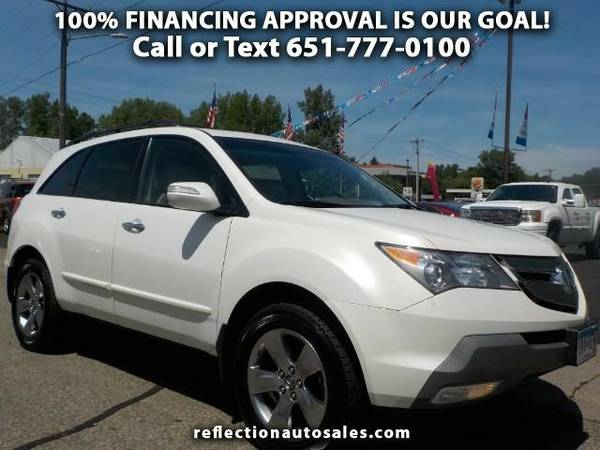 2007 Acura MDX Sport Package and Entertainment Package SUV MDX Acura