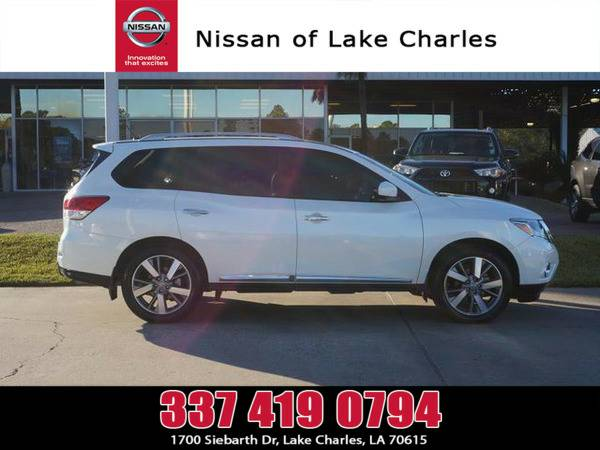 *2015* *Nissan Pathfinder* ** *Pearl White*