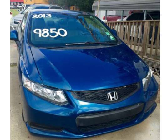 2013 HONDA CIVIC LX COUPE-LOW LOW MILES