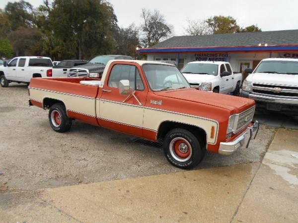1976 Chevrolet C/K 1500 Regular Cab Antique Rust Free Florida Truck