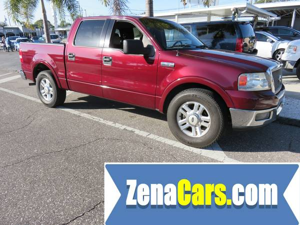 2004 FORD F-150 SUPER CREW LARIAT FULL TUNE UP PLUS WARRANTY INCLUDED