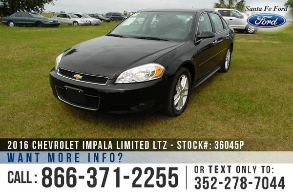 2016 Chevy Impala Limited LTZ ** Leather, XM, OnStar, Chevy Impala LTZ