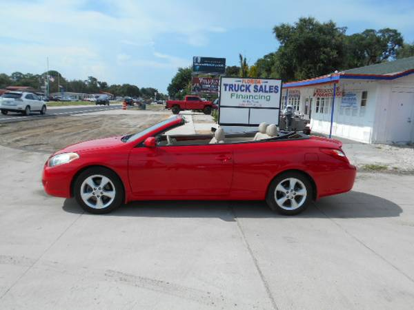 2006 Toyota Camry Solara Convertible 100% Financing Available