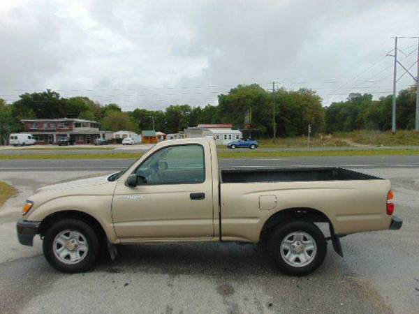 2004 Toyota Tacoma Standard Cab 100% Financing & Leasing Available