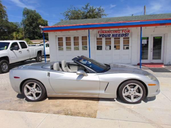 2006 Chevrolet Corvette Convertible 32K 100% Financing & Leasing $ave