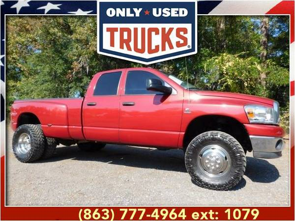 2007 *Dodge Ram 3500* SLT 4x4 (8cyl, 5.9L, 325.0hp) WE SPECIALIZE IN...
