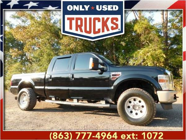 2010 *Ford F250* *F-250*F 250* Lariat 4x4 Super Duty (8cyl, 6.4L,...