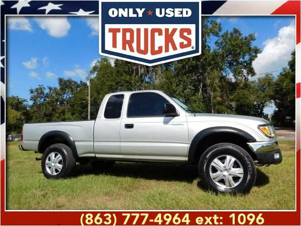 2004 *Toyota Tacoma* PreRunner (6cyl, 3.4L, 190.0hp) WE SPECIALIZE IN