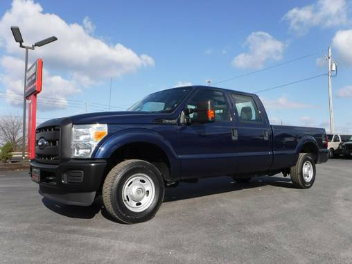 2011 Ford F250 Crew Cab Long Bed XL 4x4