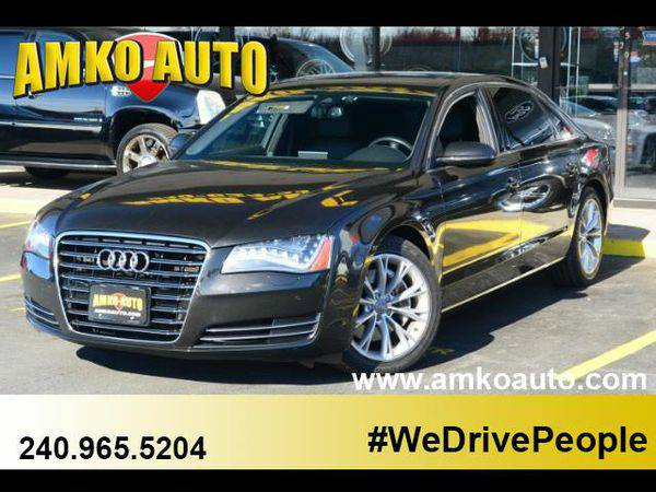 2014 *Audi* *A8* *L* 3.0T quattro $1000 Down Payment and a JOB drive n