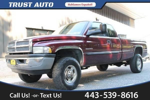 2001 Dodge Ram 2500 Quad Cab Long Bed 4WD Truck Ram 2500 Dodge