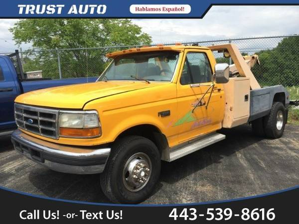 1996 Ford F-450 SD Chassis Cab 2WD Truck F-450 SD Ford