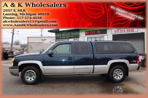 2005 CHEVY SILVERADO 1500 ^^ IMMEDIATE FINANCING FOR ALL!!