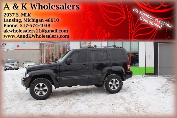2008 JEEP LIBERTY FINANCING FAST FOR ALL CREDIT LEVELS!!
