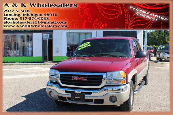2004 GMC SIERRA 1500 ^ 4X4 LOW MILES! ^ FINANCING FOR ANY CREDIT FAST!
