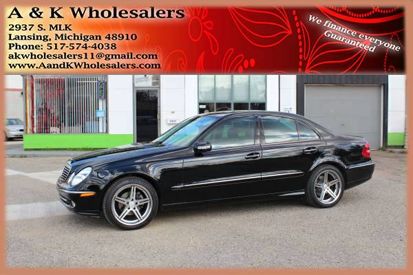 2003 MERCEDES E320! ** LOW MILES! ** VERY CLEAN!! ** QUICK FINANCING!!