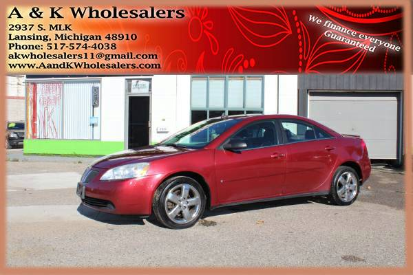 2008 PONTIAC G6 GT $$$ INSTANT FINANCE FOR ANY CREDIT $$$