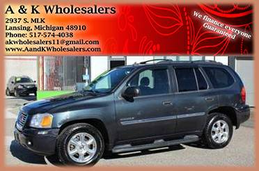 2006 GMC ENVOY, LOW DOWN PAYMENT $$$ WE FINANCE EVERYONE GUARANTEED$$$