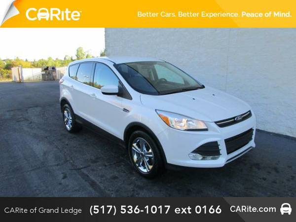 2013 *Ford Escape* FWD 4dr SE (White Platinum Tricoat)