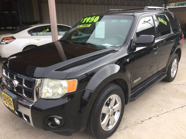 2008 FORD ESCAPE LIMTED BLACK !!!~!