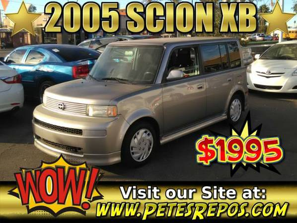 2005 Scion Xb For Sale - Low Miles 05 Scion