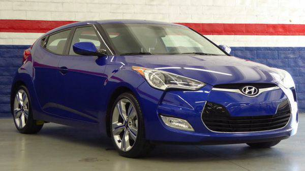 2014 *Hyundai* *Veloster* 3dr Coupe Automatic w/Gray Int -📲$99