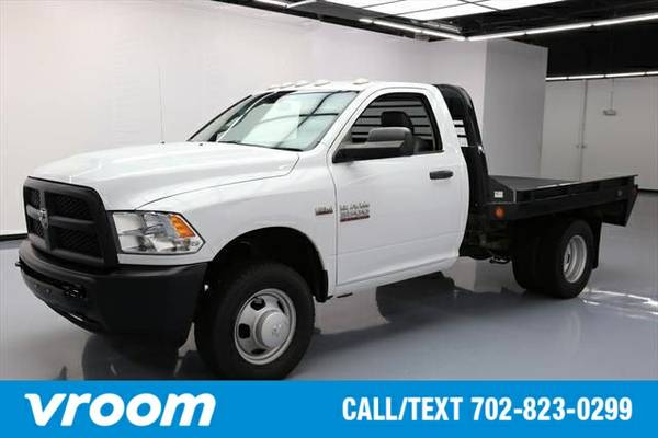 2013 RAM 3500 HD Chassis Tradesman/SLT 7 DAY RETURN / 3000 CARS IN STO