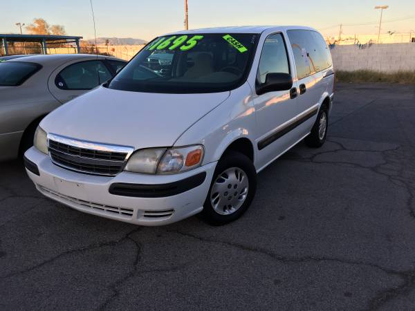 2003 CHEVY VENTURE $1495 CASH/ALL FEES INCLUDED!