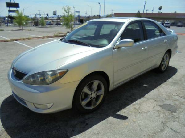 2006 TOYOTA CAMRY V6 SE 115K MILES FULLY LOADED LEATHER, ALLOY WHEELS,