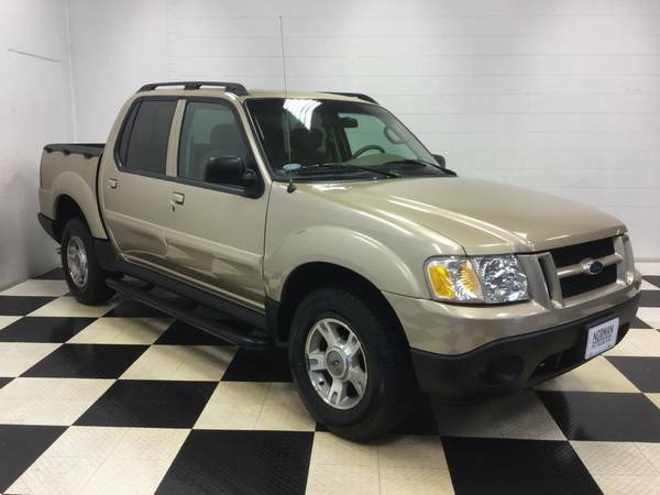 2003 FORD SPORT TRAC CREWCAB 4.0L ONLY 90,000 MILES!!! OLD MAN OWNED!