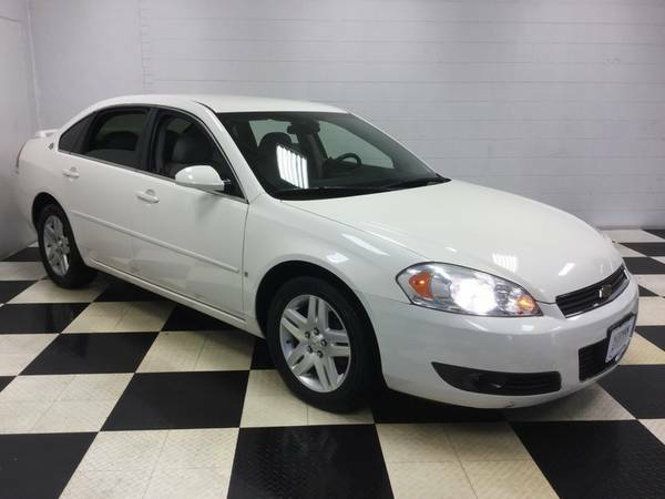 2007 CHEVROLET IMPALA 3.9L V6 LEATHER LOADED! OLD LADY OWNED-LOW MILES