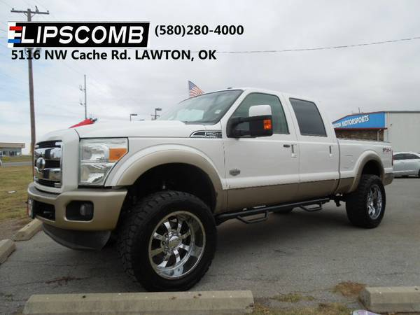 2011 Ford F250 Super Duty Crew Cab King Ranch 4X4