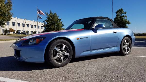 2005 HONDA S2000 6SPD MANUAL SUZUKA BLUE ~~ CLEAN CARFAX ~~!!!!!!!!!!!