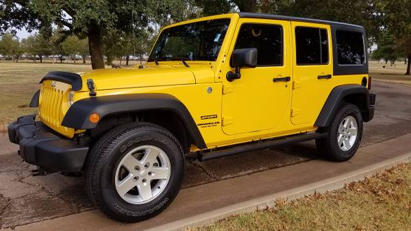 2015 JEEP WRANGLER UNLIMITED REMOVABLE HARD TOP ~ONLY 13K MILES~!!!!!!