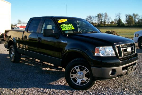 2007 FORD F150 LARIAT CREW CAB 4WD LOADED