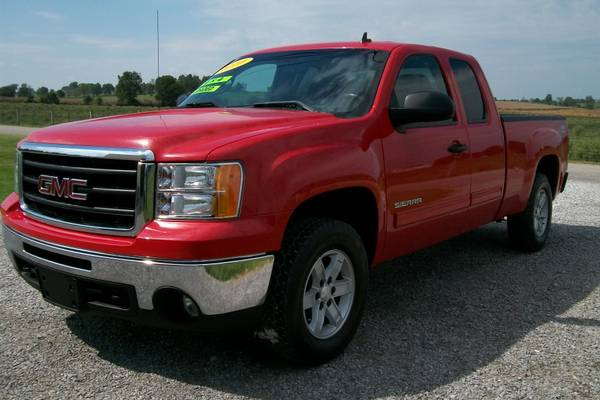 2010 GMC SIERRA 1500 Z71 EXTENDED CAB 4WD