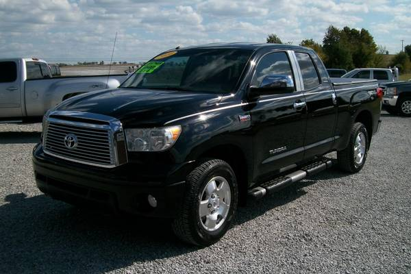2010 TOYOTA TUNDRA LIMITED DOUBLE CAB 4X4