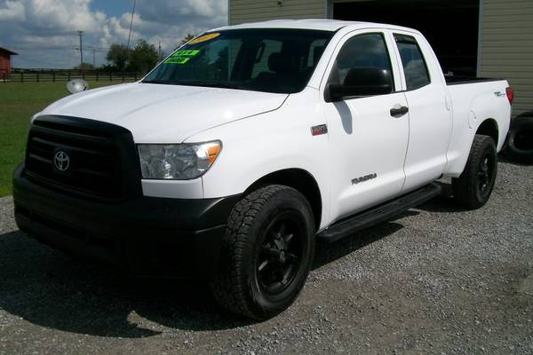 2013 TOYOTA TUNDRA DOUBLE CAB 4WD * ONE OWNER*