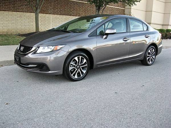 2013 Honda Civic EX -1 owner lease!