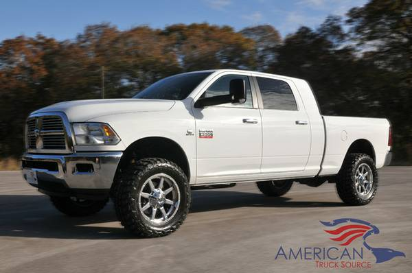 4TH GEN MEGA SLAB! 2010 RAM 2500-LEVELED ON FUELS/MTS-LONESTAR PACKAGE