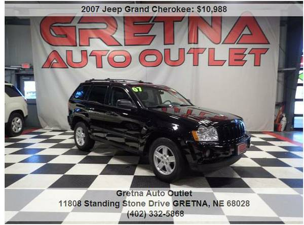 2007 Jeep Grand Cherokee*SPECIALLY ORDERED LAREDO W/ LEATHER 82K ROOF!