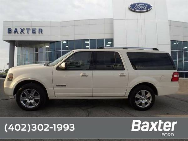 2008 Ford Expedition EL Limited SUV Expedition EL Ford