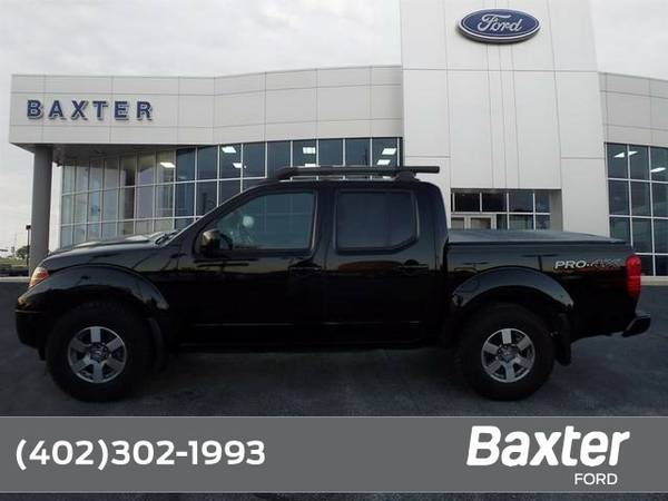 2012 Nissan Frontier PRO-4X Crew Cab 4x4 (A5) Truck Frontier Nissan