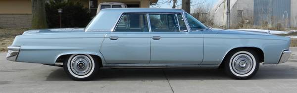 1966 Chrysler Crown Imperial Very Low Original Miles