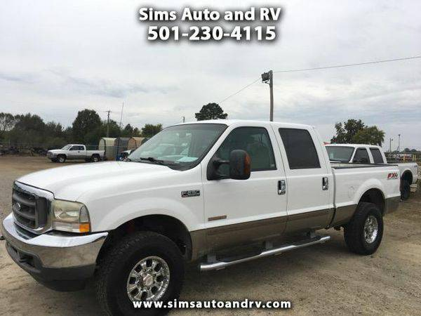 2003 *Ford* *F-250* *F 250* *F250* *SD* Lariat Crew Cab Short Bed 4WD